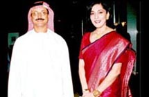 His Excellency Sultan Ahmed Bin Sulayem, Chairman Dubai World and Ms.Poonam Datta